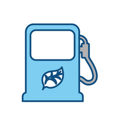 Energy station eco vector