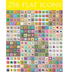 Flat icons 14 vector