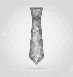 necktie geometric vector image