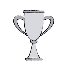 Trophy award competition winner icon vector