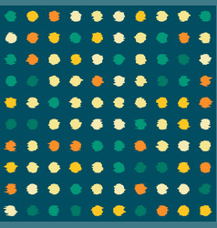Background with spots arranged orderly vector