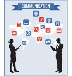 Concept of communcation vector