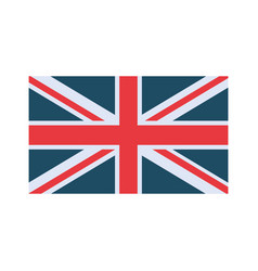 England flag colorful vector