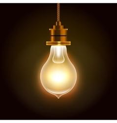 Modern Bulbs Background vector image vector image