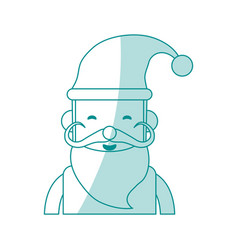 santa claus design vector image