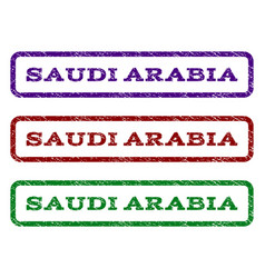 Saudi arabia watermark stamp vector
