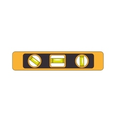 Spirit level tool vector
