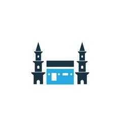 Mecca colorful icon symbol premium quality vector