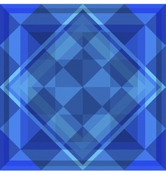 Geometric blue background vector