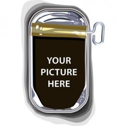 sardines tin vector image