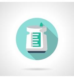 Air dehumidifier flat color design icon vector
