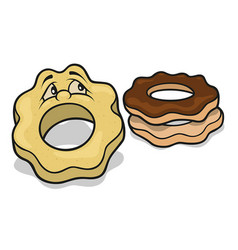 sweet cookies vector image vector image