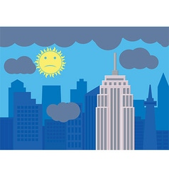 Cityscape design vector