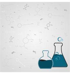 Chemistry background vector