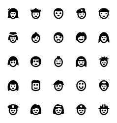 People Avatars-3 vector image