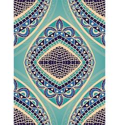 Blue ornamental pattern vector