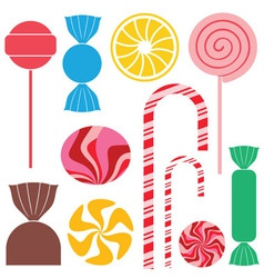 Candy chocolate vector