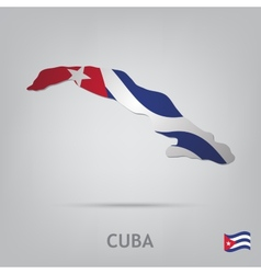 country cuba vector image