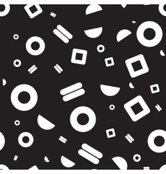 Seamless pattern geometric shapes vector image vector image