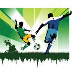 soccer skill vector image vector image