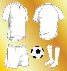 Sport uniforms vector