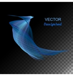 Abstract curved lines vector