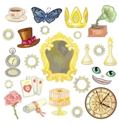Fairy Tale Elements vector image