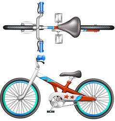 A bicycle vector image vector image