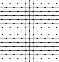 Abstract seamless monochrome grid pattern vector