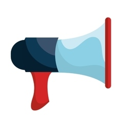 Bullhorn or megaphone isolated icon vector