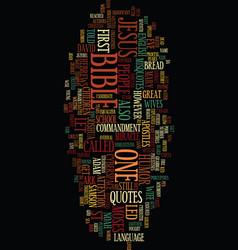 Misspelled scriptures text background word cloud vector