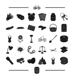 Pub easter party and other web icon in black vector