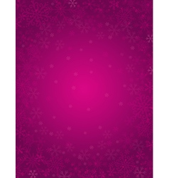 Purple background with frame of snowflakes vector