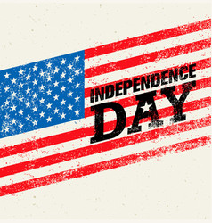 Happy independence day usa celebration rough vector