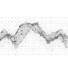 Big data visualization futuristic vector