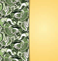 Abstract banner design vector