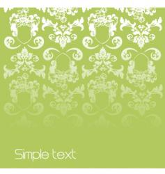 floral page vector image