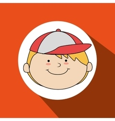Happy kids design vector