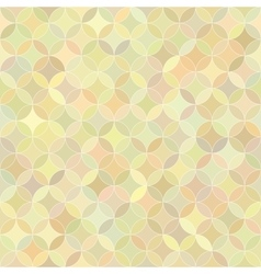 Abstract seamless rosette colorful pastel pattern vector