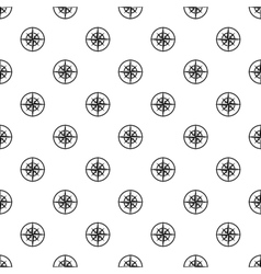 An ancient compass pattern simple style vector
