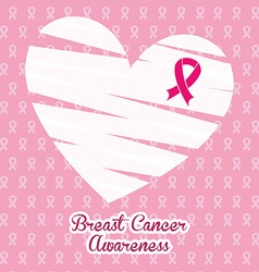breast cancer vector image