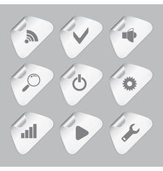 Editor tools icon set vector