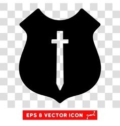 Guard shield eps icon vector