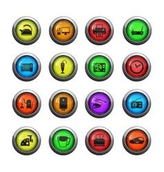 Home applicances simply icons vector