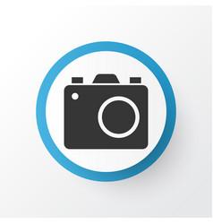 Photo apparatus icon symbol premium quality vector