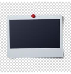 Polaroid frame single vector