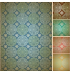 Seamless geometric background wall paper vector image vector image