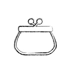 pocketbook purse isolated vector image