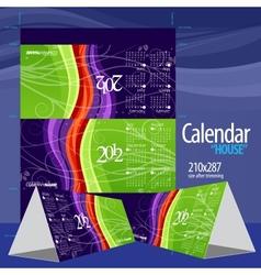 2012 calendar calendar house vector