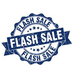 Flash sale stamp sign seal vector